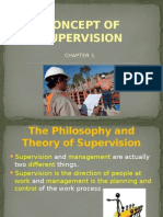 oncept of Supervision