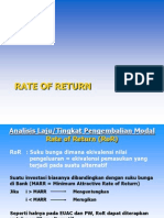 05 Rate of Return RoR