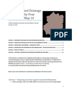 Watershed and Drainage Delineation by Pour Point