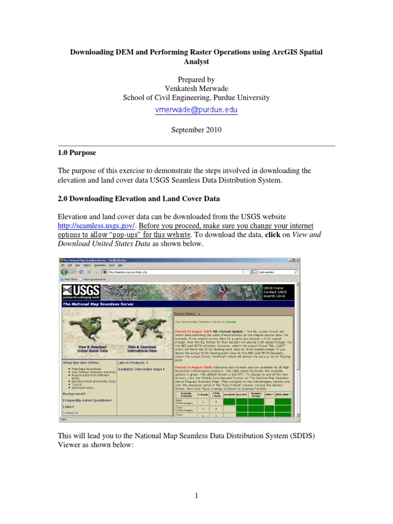 Dem Contour Line Geographic Information System - Download dem data usgs