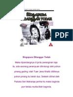 Kisah Singapura Dilanggar Todak Versi Asal