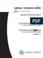 CardiacScience AED G3 - Service Manual