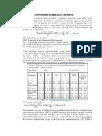 Cálculo de Los Parámetros Básicos de Riego