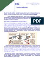 Unidad 5ta - Fuentes de Energía - 7mo basico
