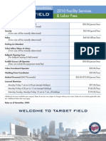 6 - Target Field - Facility Services & Labor