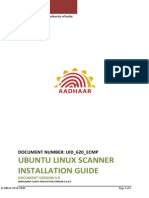 620 ECMP Scanner Installation Guide Linux