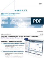 IBM BPM V751 WhatsNew TechnicalOverview BH for Customers