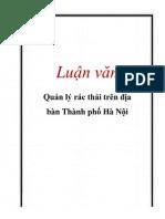 Luận Văn Quản Lý Rác Thả..