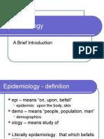 Epidemiology PowerPoint Ajb