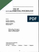 Stokols - Conceptual Strategies of Environmental Psychology