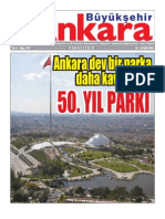 Ankara Dev Bir Parka Daha Kavuştu