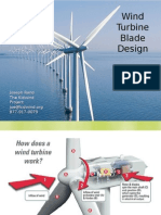 Wind Turbine Blade Design