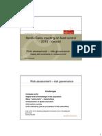Feed Control 0810 Risk Assessment Risk Governance