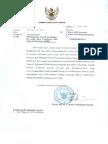 - Penyampaian Contoh Penentuan Fee Audit Dana Kampanye Dan Term of Reference (TOR) (23 Maret 2010)