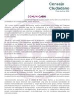 Comunicado Podemos Alcorcón