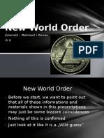 New World Order( Novi svjetski poredak)