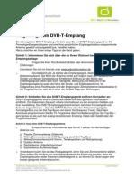 DVB-T Reception