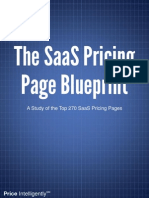 SaaS Pricing Page Blueprint