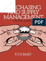 P. J. H. Baily B.sc. (Econ.), A.C.I.S., F. Inst. P.S. (Auth.)-Purchasing and Supply Management-Springer US (1978)