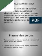 plasma dan serum
