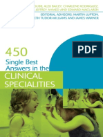 450 Single Best Answers in the Clinical Specialities