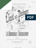 Bourgault Chant Des Pêcheurs pdf