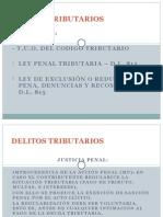 Derecho Tributario-Delito Tributario