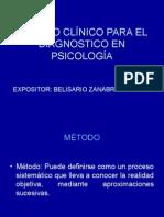 Metodo Clinico en Psicologia