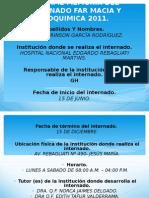INFORME MEMORIA DEL INTERNADO FAR MACIA Y BIOQUIMICA 2.ppt