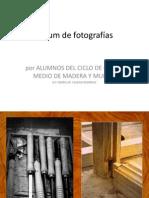 Álbum de Fotografías MADERA