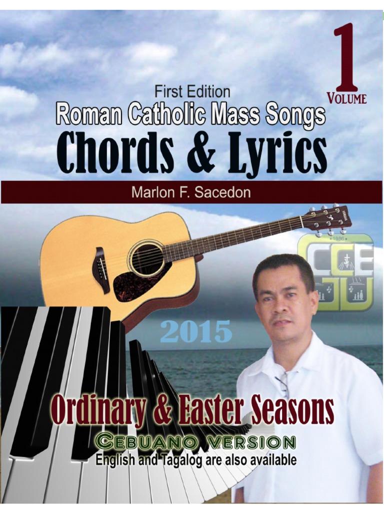 Roman Catholic Mass Songs, CHORDS & LYRICS, vol 1 | Eastern