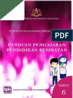 Panduan Pengajaran Pendidikan Kesihatan KSSR Tahun 6 2015
