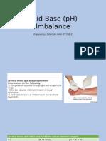 Acid-Base (PH) Imbalance