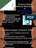 Alternatives Evidence Based Medicine