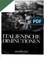 Disminuciones Italianas
