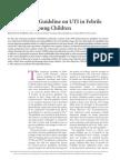 Revised AAP Guideline on UTI in Febrile 2012