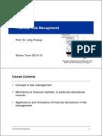 2014 Risk Management - Part 1