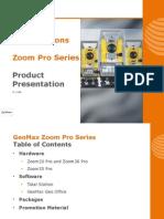 GeoMax Zoom Pro Presentation