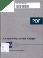 Concrete Box Girder Bridges, ACI Monograh 10