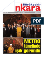Metro Tünelinde Işık Göründü