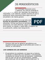 GENEROS PERIODISTICOS 1
