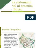 Analiza Sistemului Teritorial Al Orasului Buzau