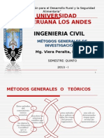 Métodos Generales de Investigación