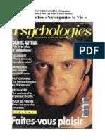 1994 - PSYCHOLOGIES  Magazine