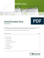 Autocalculator Easy - Short Instruction V1 I400340GB