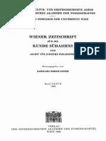 Wiener Zeitschrift 37