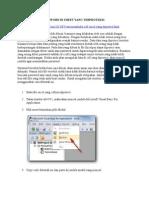 Cara Membuka Password Di Sheet Yang Terproteksi (1)