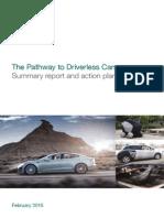 Pathway Driverless Cars Summary
