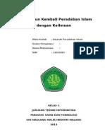 Membangun Kembali Peradaban Islam dengan Keilmuan.doc
