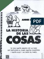 Anni Leonard La Historia de Las Cosas